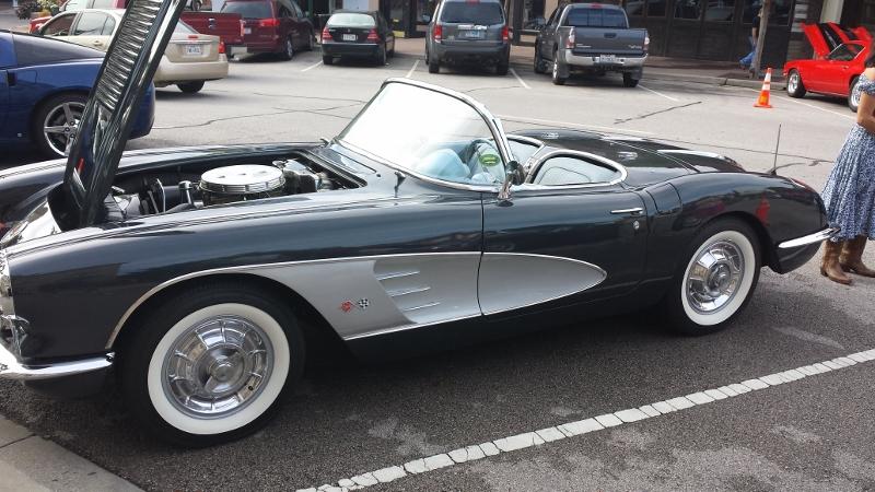 June Classics On The Squareon Corvette Engine